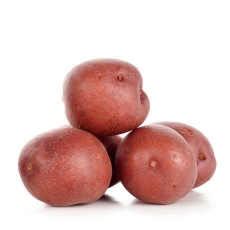 big red potatoes